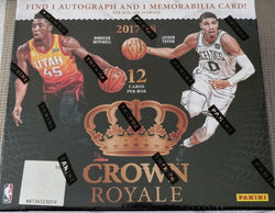 2017-18 Panini Crown Royale Basketball Box