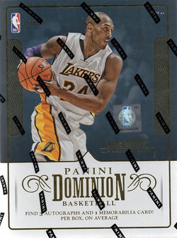 2017-18 Panini Dominion Basketball Box