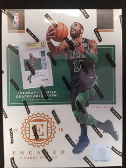 2017-18 Panini Encased Basketball Box