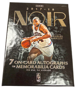 2017-18 Panini Noir Basketball Box