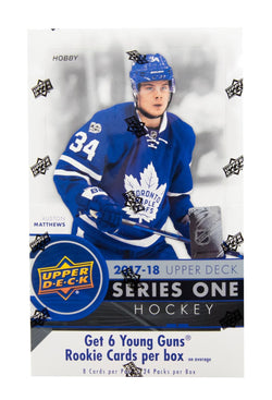 2017-18 Upper Deck Series 1 Hockey Box