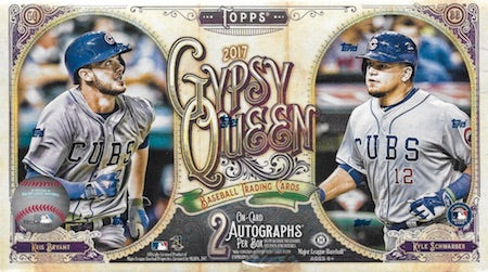 2017 Topps Gypsy Queen Baseball Box