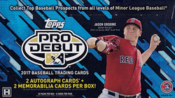 2017 Topps Pro Debut Baseball Box
