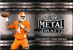 2017 Leaf Metal Draft Football Box