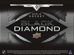 2018-19 Upper Deck Black Diamond Hockey Box