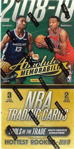 2018-19 Panini Absolute Memorabilia Basketball Case