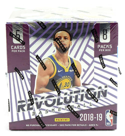 2018-19 Panini Revolution Basketball Box