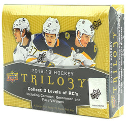 2018-19 Upper Deck Trilogy Hockey Box