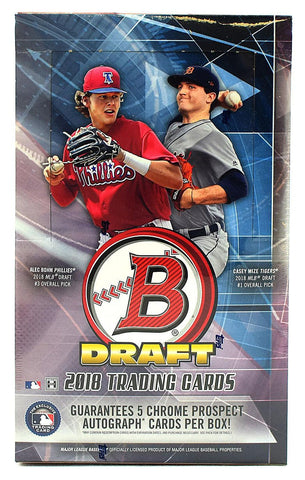 2018 Bowman Draft Baseball Super Jumbo Case