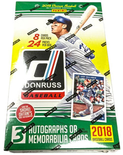 2018 Donruss Baseball Hobby Box