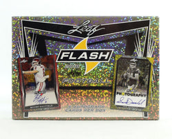 2018 Leaf Flash Football Box
