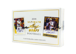 2018 Leaf Ultimate Football Box