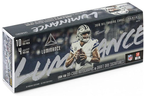 2018 Panini Luminance Football Pack