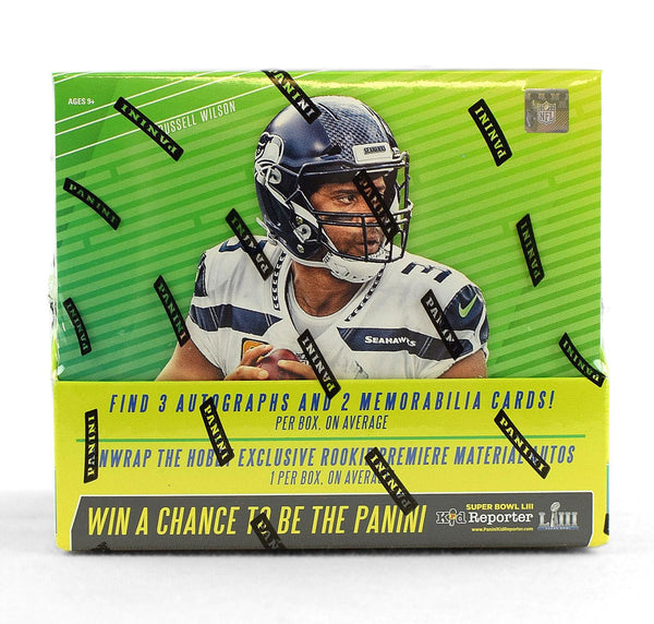 2018 Panini Absolute Football Hobby Pack