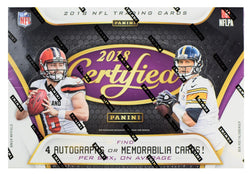2018 Panini Certified Football Box