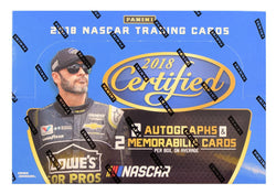 2018 Panini Certified Racing Box