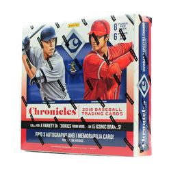 2018 Panini Chronicles Baseball Box