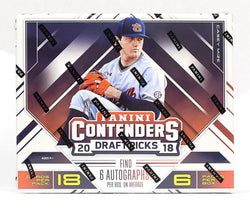2018 Panini Contenders Draft Picks Baseball Box