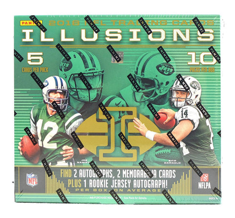 2018 Panini Illusions Football 16-box Case