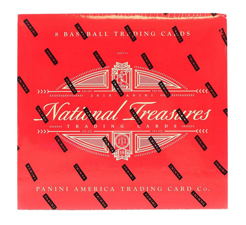 2018 Panini National Treasures Baseball Case