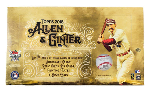 2018 Topps Allen and Ginter Baseball Hobby Box