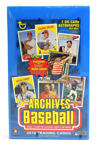 2018 Topps Archives Baseball Box