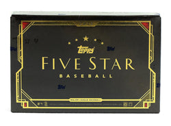 2018 Topps Five Star Baseball Box