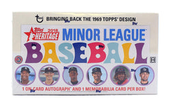 2018 Topps Heritage Minor League Baseball Box