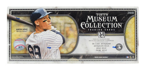 2018 Topps Museum Collection Baseball Box