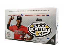 2018 Topps Pro Debut Baseball Box
