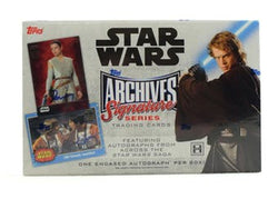 2018 Topps Star Wars Archives Signature Series Box