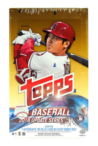 2018 Topps Update Baseball Hobby Case