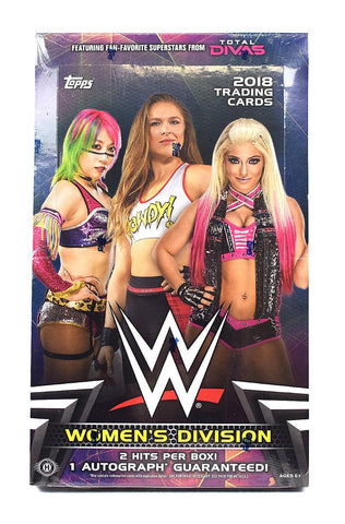 2018 Topps WWE Womens Division Box