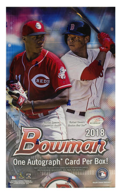 2018 Bowman Baseball Hobby Case
