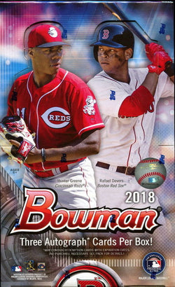 2018 Bowman Baseball HTA Jumbo Box