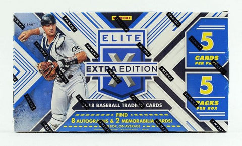 2018 Panini Elite Extra Edition Baseball Box