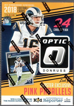 2018 Panini Optic Football Blaster Box