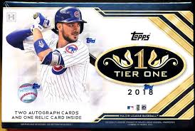 2018 Topps Tier One Baseball Box