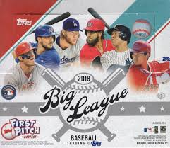 2018 Topps Big League Baseball Box