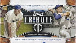 2018 Topps Tribute Baseball Box
