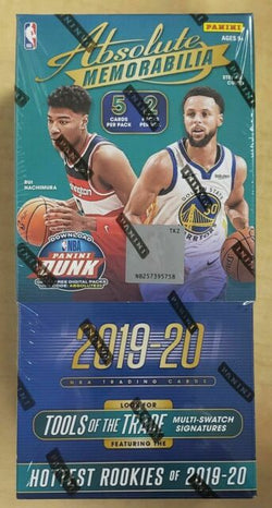 2019-20 Panini Absolute Basketball Hobby 10-Box Case