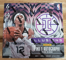 2019-20 Panini Illusions Basketball Box