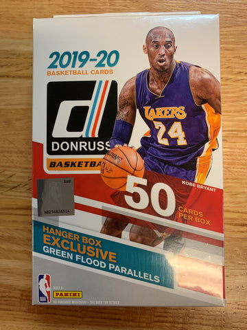 2019-20 Panini Donruss Basketball Hanger Pack