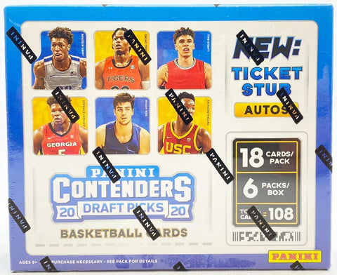 2020-21 Panini Contenders Draft Picks Collegiate Basketball Box