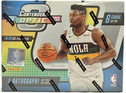 2019-20 Panini Contenders Optic Basketball Box