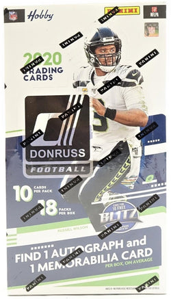 2020 Panini Donruss Football Hobby Box