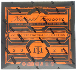 2020 Panini National Treasures Collegiate Football Hobby Box