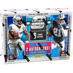 2019 Panini Contenders Optic Football 10-Box Inner Case