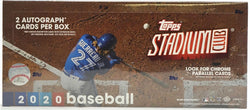 2020 Topps Stadium Club Baseball Box