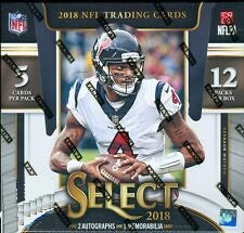 2018 Panini Select Football 12-box Case